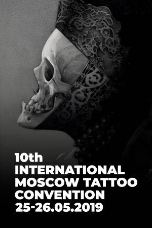 10 International Moscow Tattoo Convention 2019