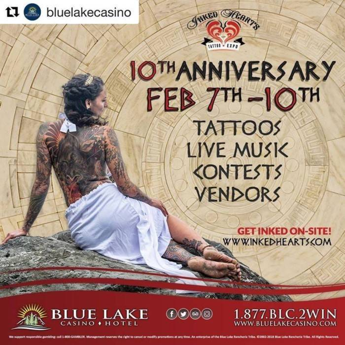 Inked Hearts Tattoo Expo 2019