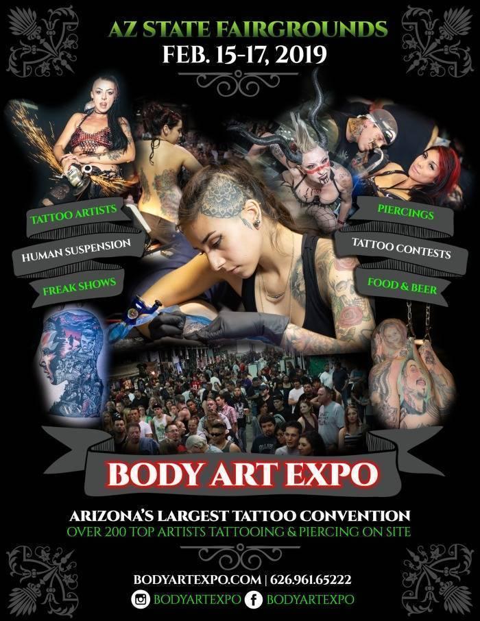Body Art Expo Phoenix 2019