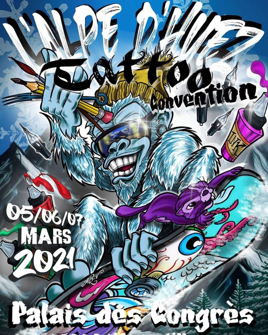 L'Alpe D'Huez Tattoo Convention