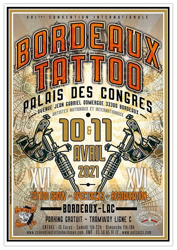 XVI Bordeaux Tattoo Convention