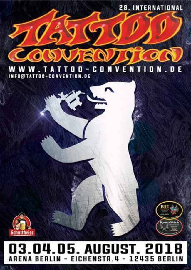 28th Berlin Tattoo Convention