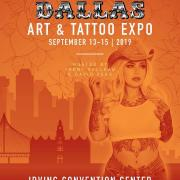 Dallas Art and Tattoo Expo 2019