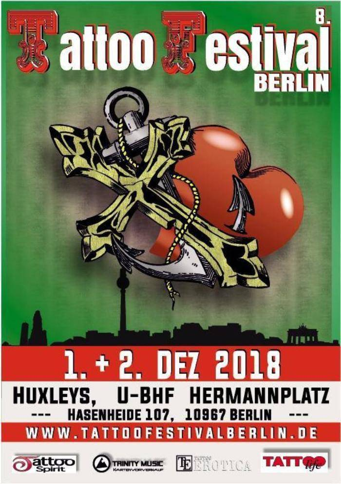 Tattoo Festival Berlin 2018