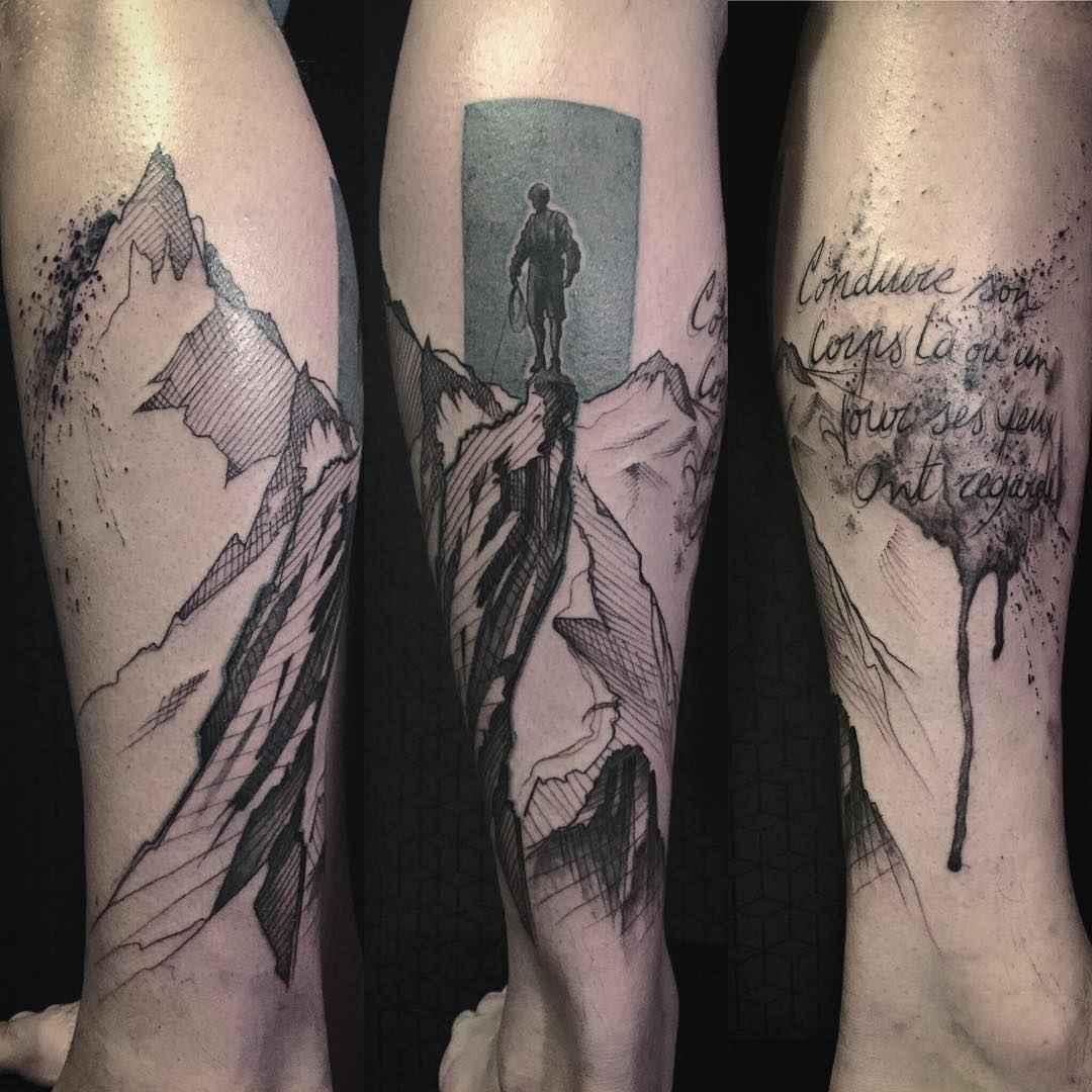 tattoo artist l 39 oiseau franck solers collie france. Black Bedroom Furniture Sets. Home Design Ideas