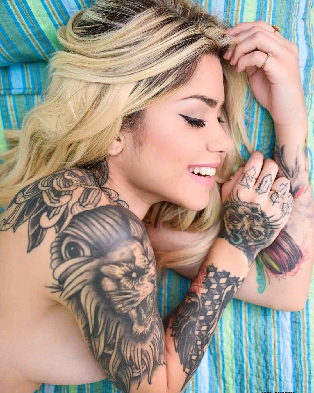 Tattoo model Ray Mattos | Sao Paulo, Brazil
