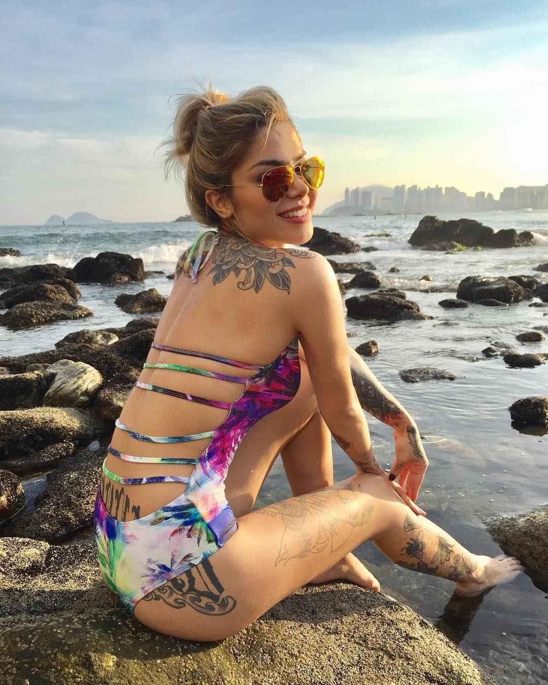 Tattoo model Ray Mattos | São Paulo, Brazil