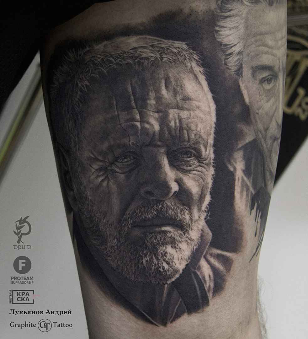 detailed realistic tattoo by andrey lukyanov inkppl tattoo