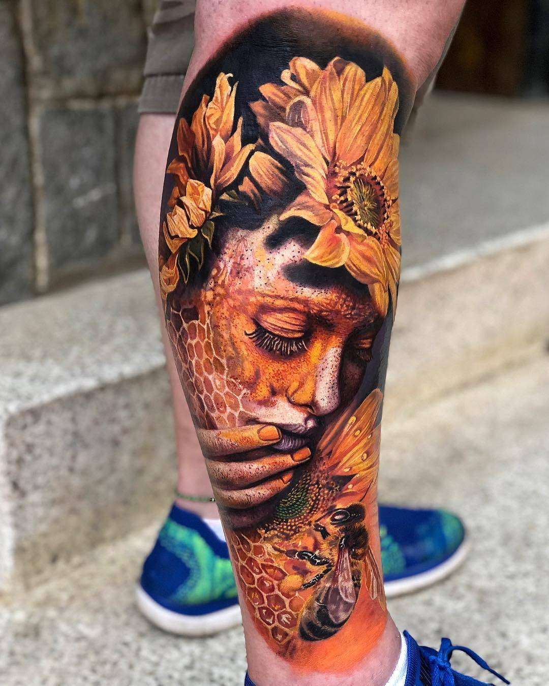 360b6d957bd38 Surrealistic tattoos by Roberto Carlos Sanchez Mesa
