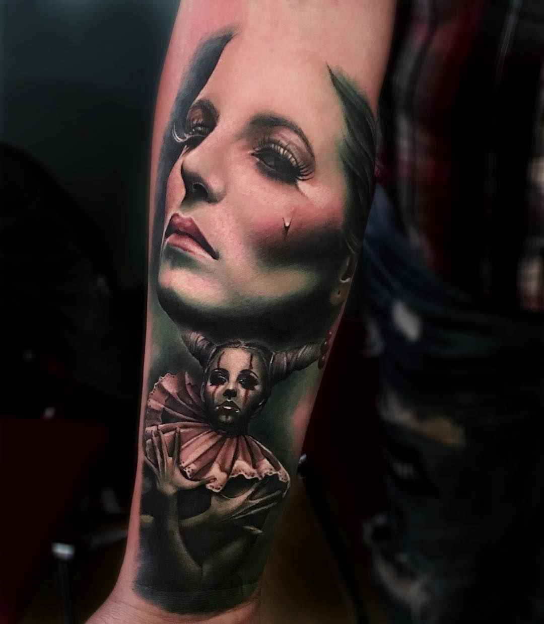 Atmospheric works of sam barber inkppl tattoo magazine for Most famous tattoo artists