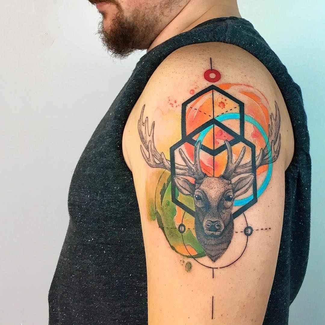 0c5eec0af Watercolor tattoos by Baris Yesilbas