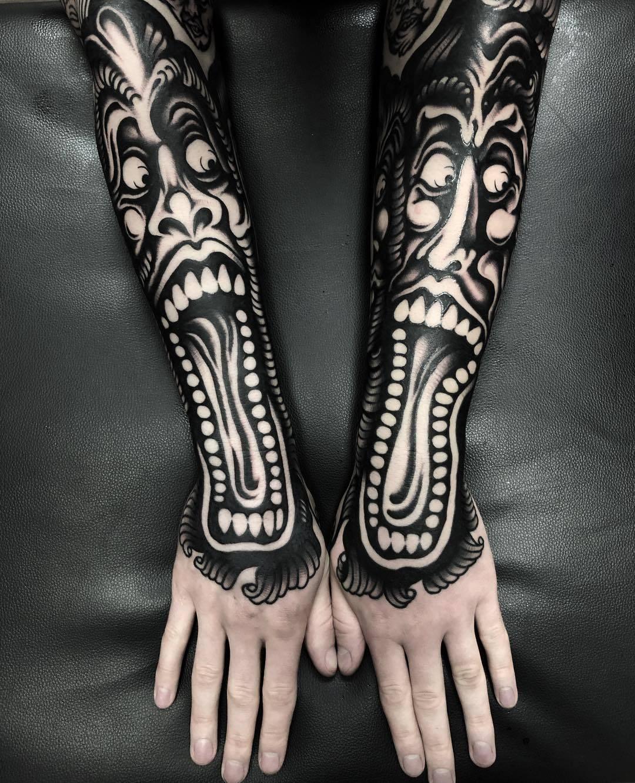 Tattoo artist Simone Ruco | Italy