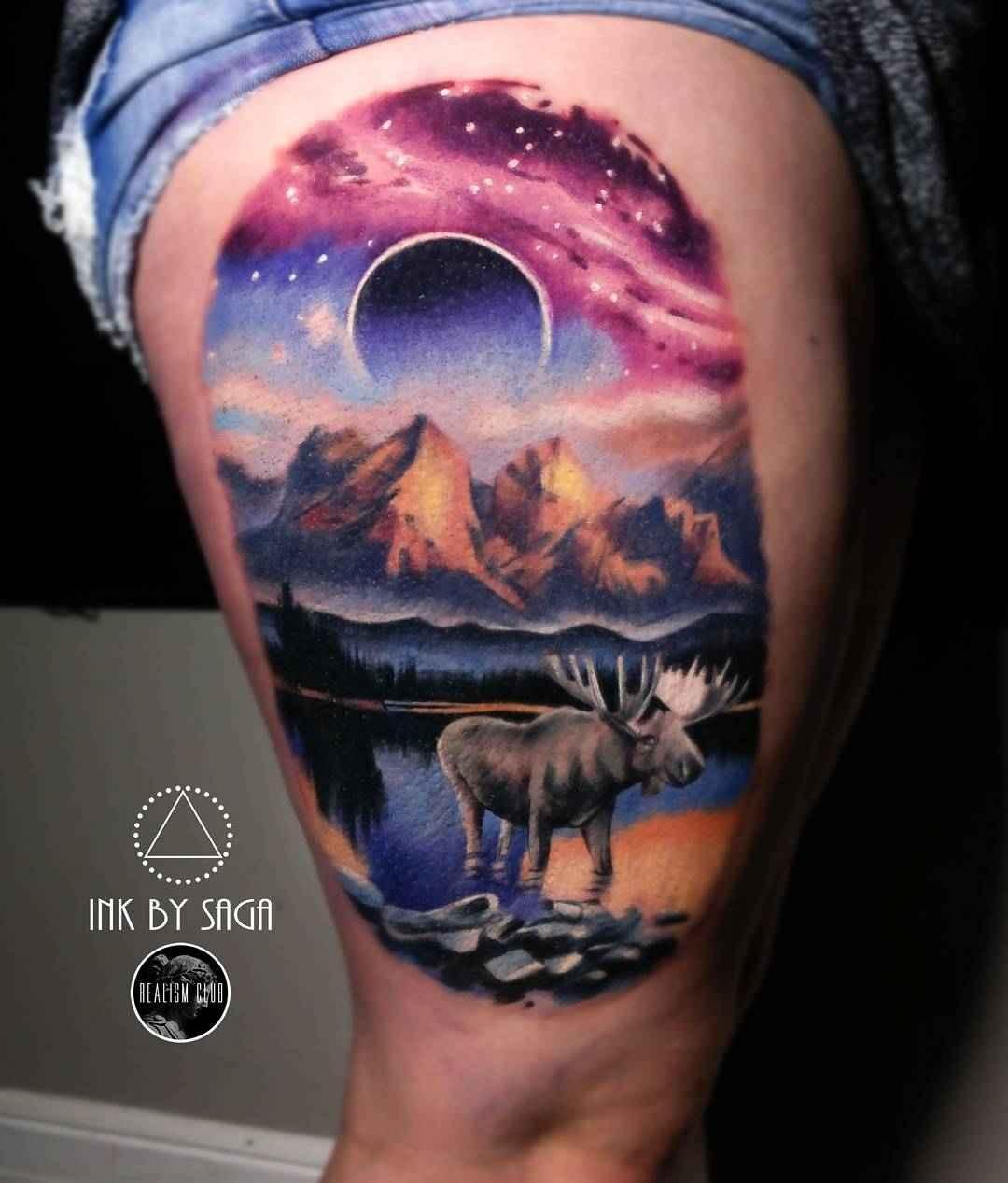 Tattoo Ideas Magazine: Tattoo Artist Saga Anderson ( Ink By Saga )