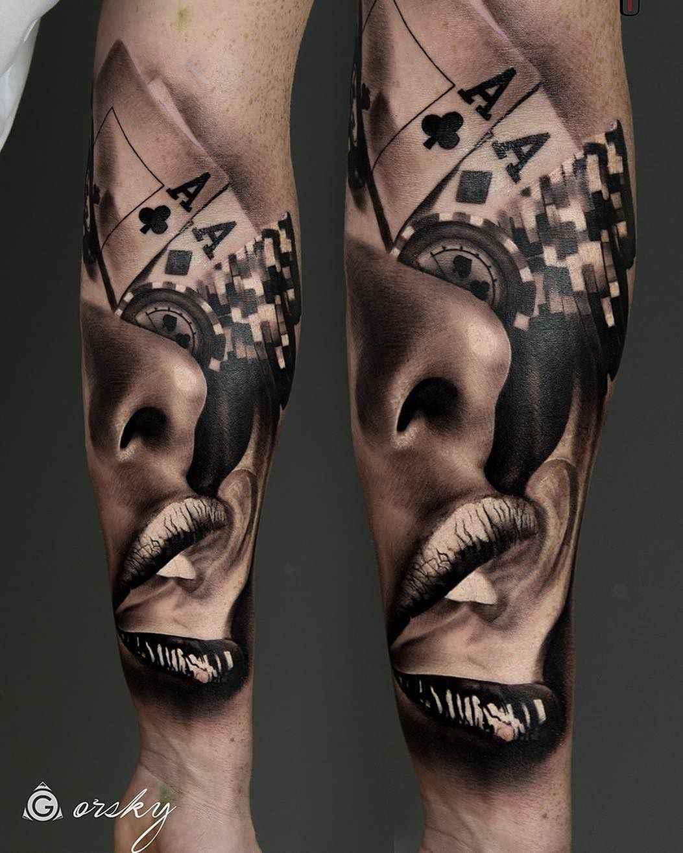 Tattoo artist damian gorski from london uk inkppl tattoo for All city tattoo