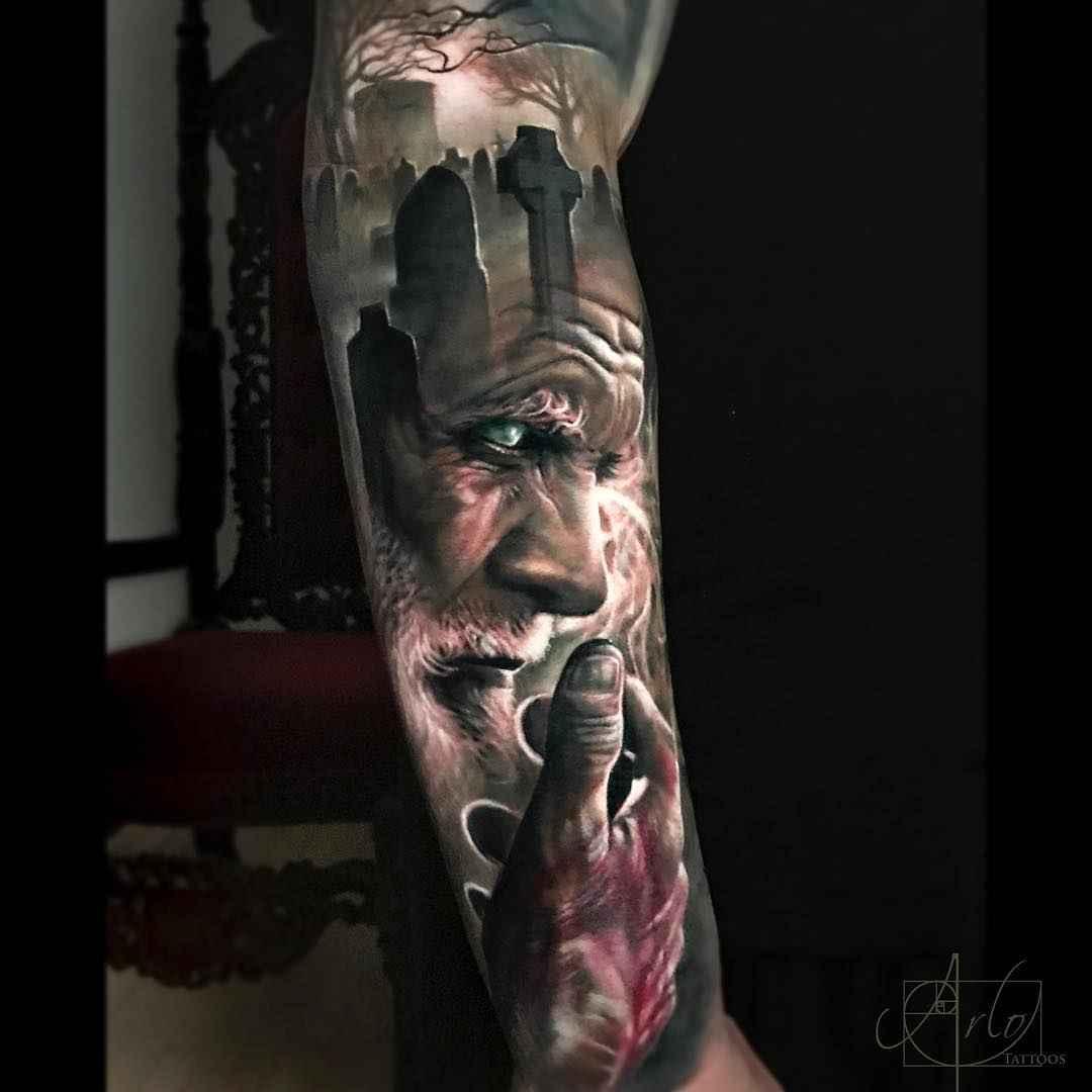 tattoo artist arlo dicristina grane junction united