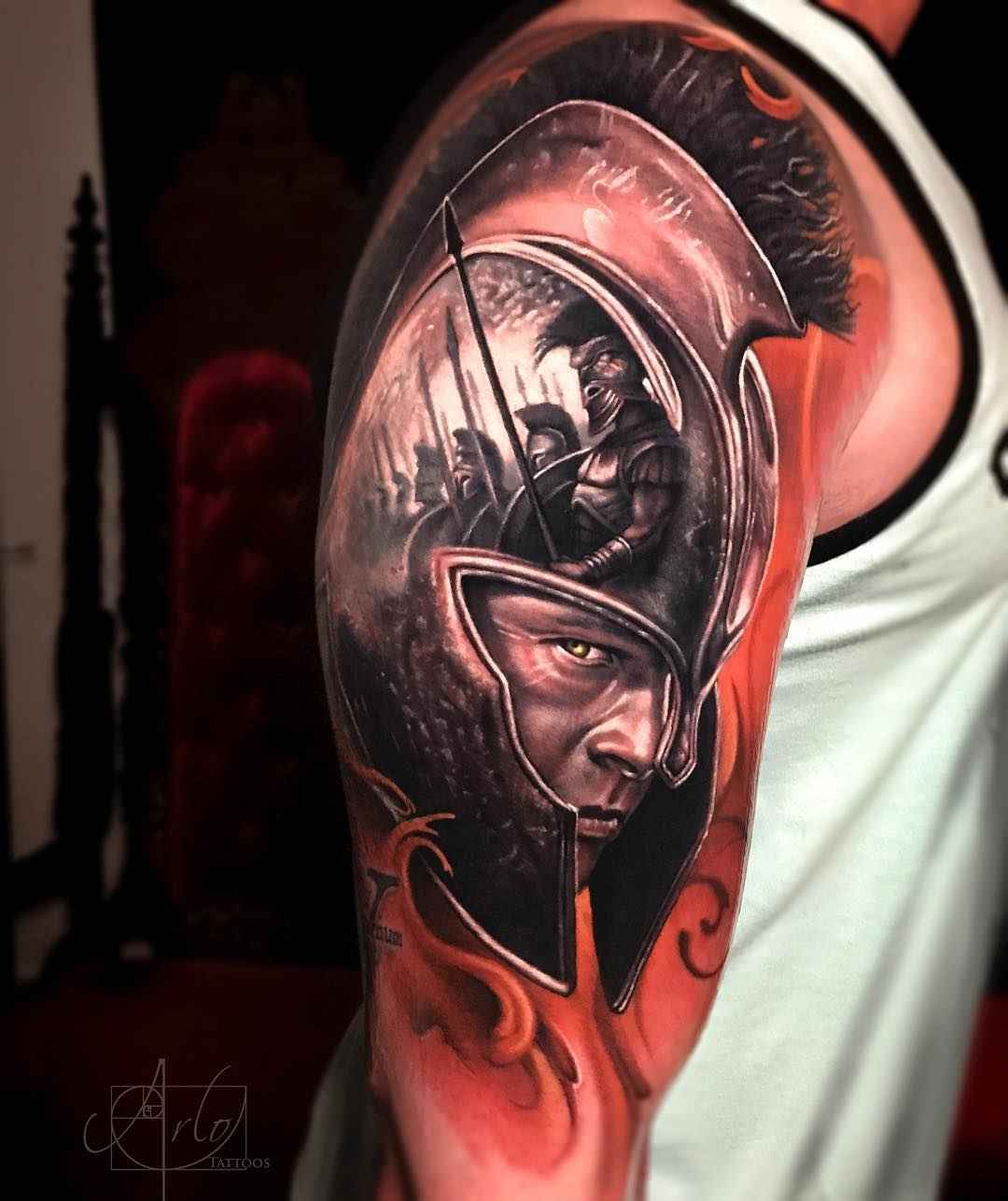 Tattoo artist arlo dicristina grane junction united for Best tattoo artists in colorado