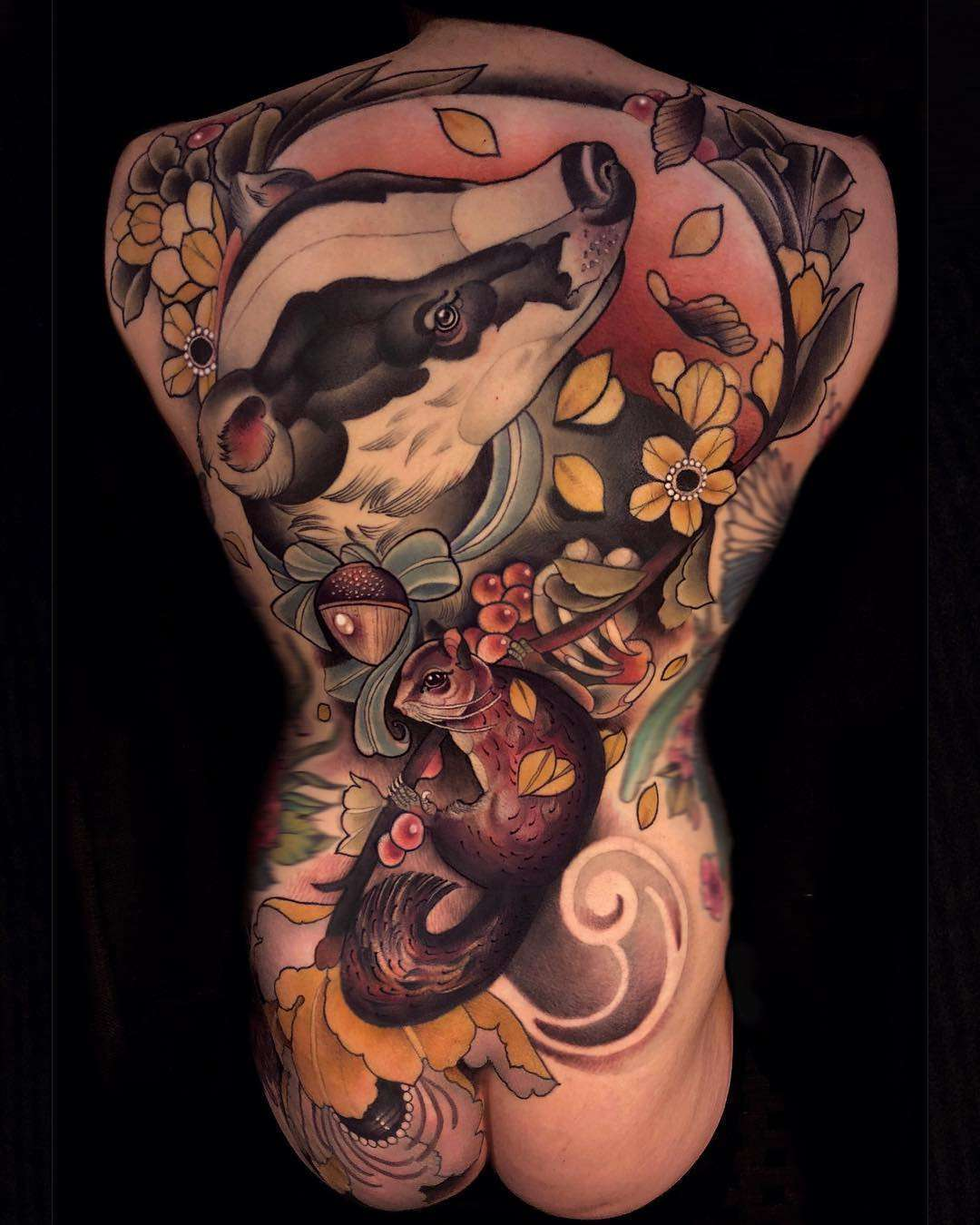 Artistic Tattoo Lille tattoo artist chris green