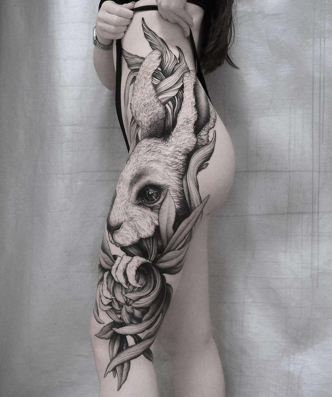 Tattoo Artist Parvick Faramarz Moscow Russia