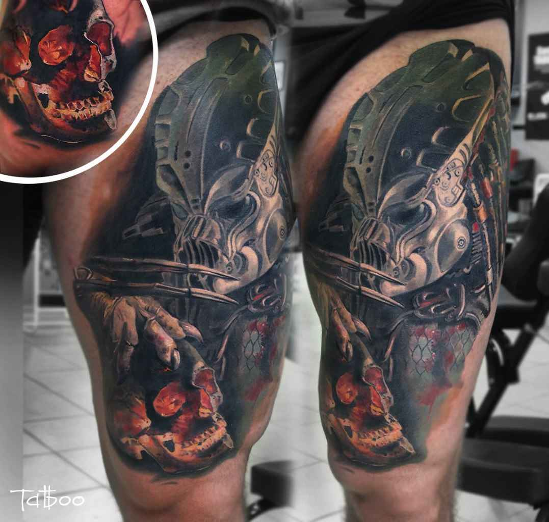 Tattoo Artist Valentina Ryabova Saint Petersburg Russia