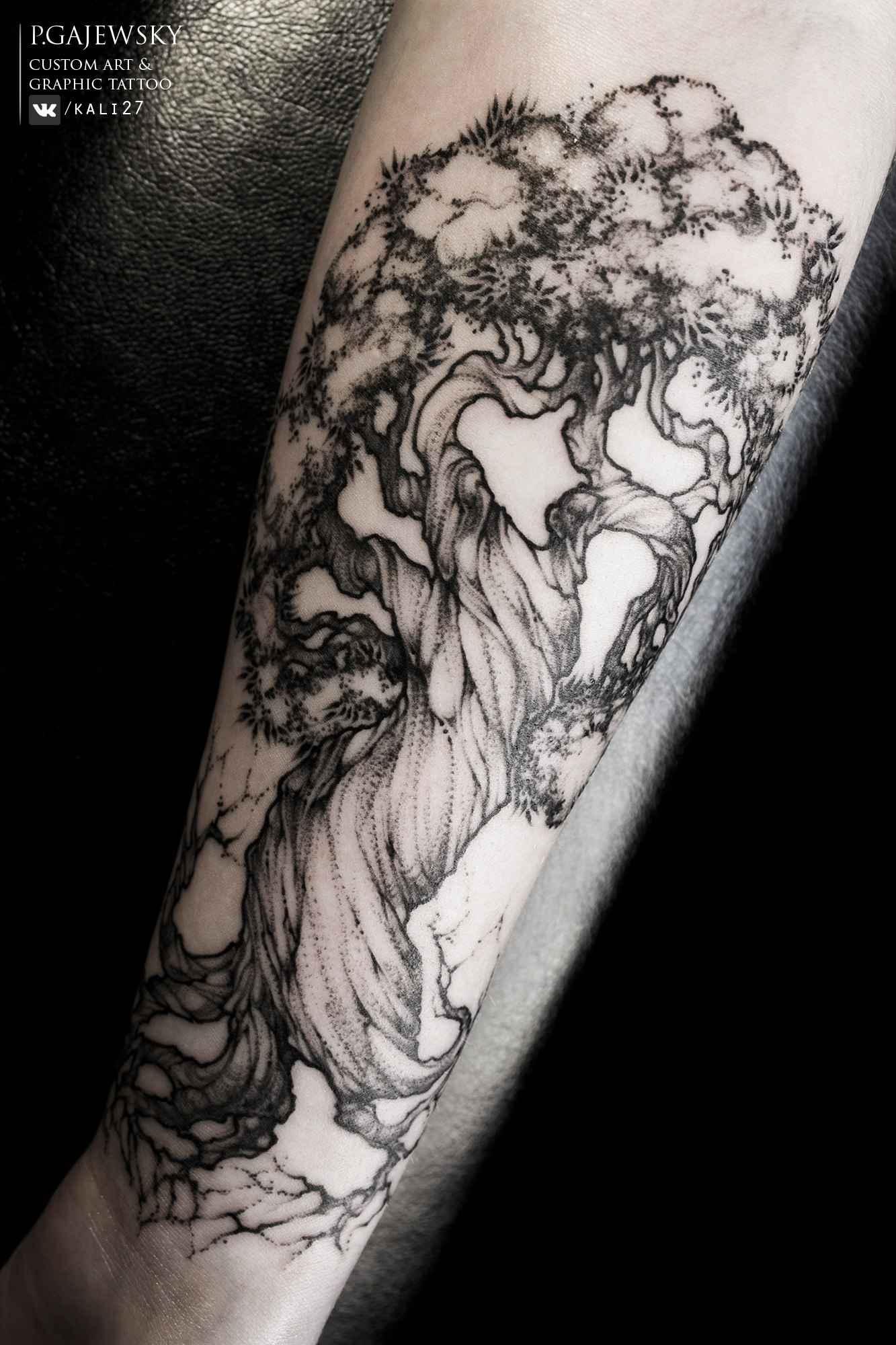 Tattoo artist polina gajewsky st petersburg russia for Nocturnal tattoo ink