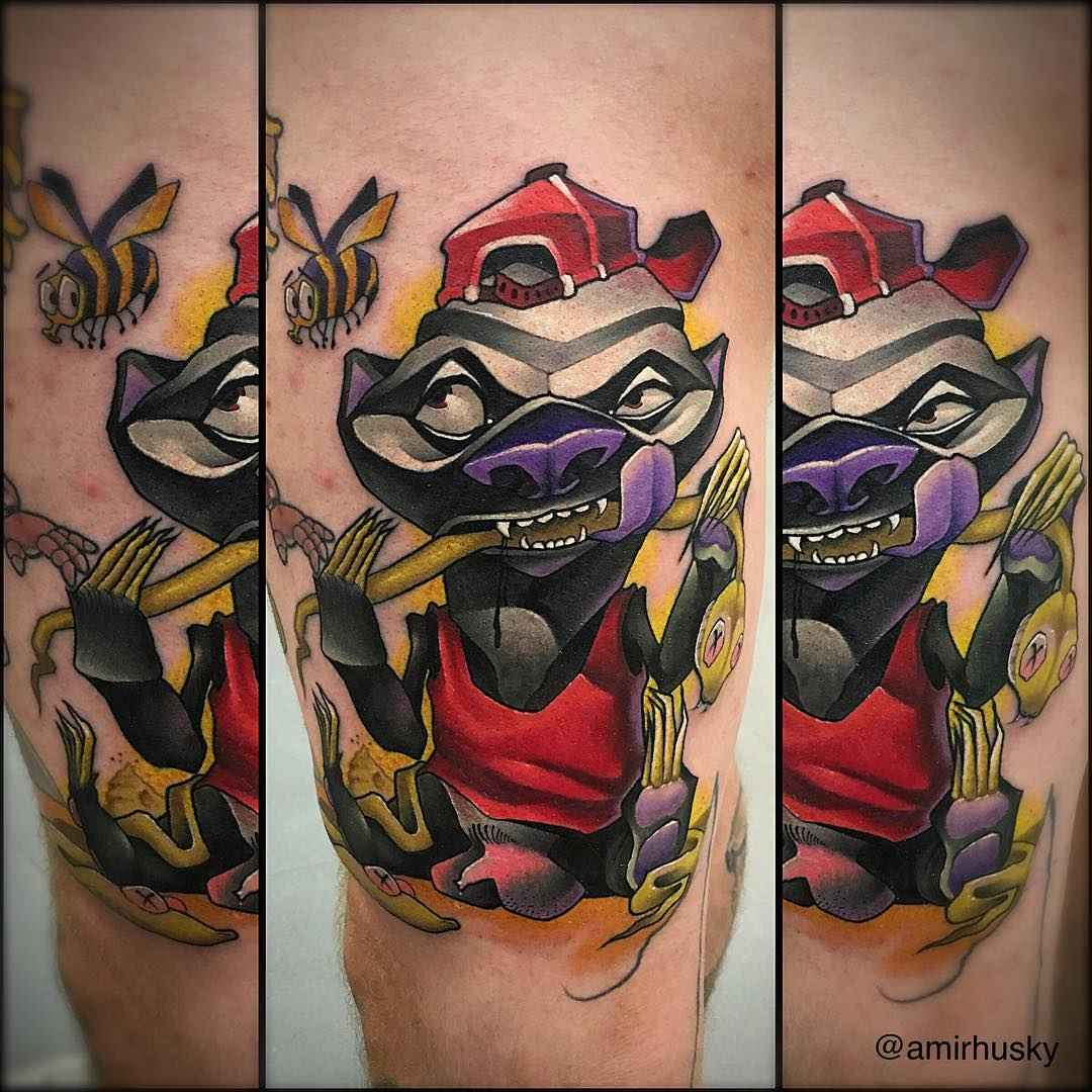 Tattoo artist amir haski kazan russia inkppl tattoo for Tattoo artist school