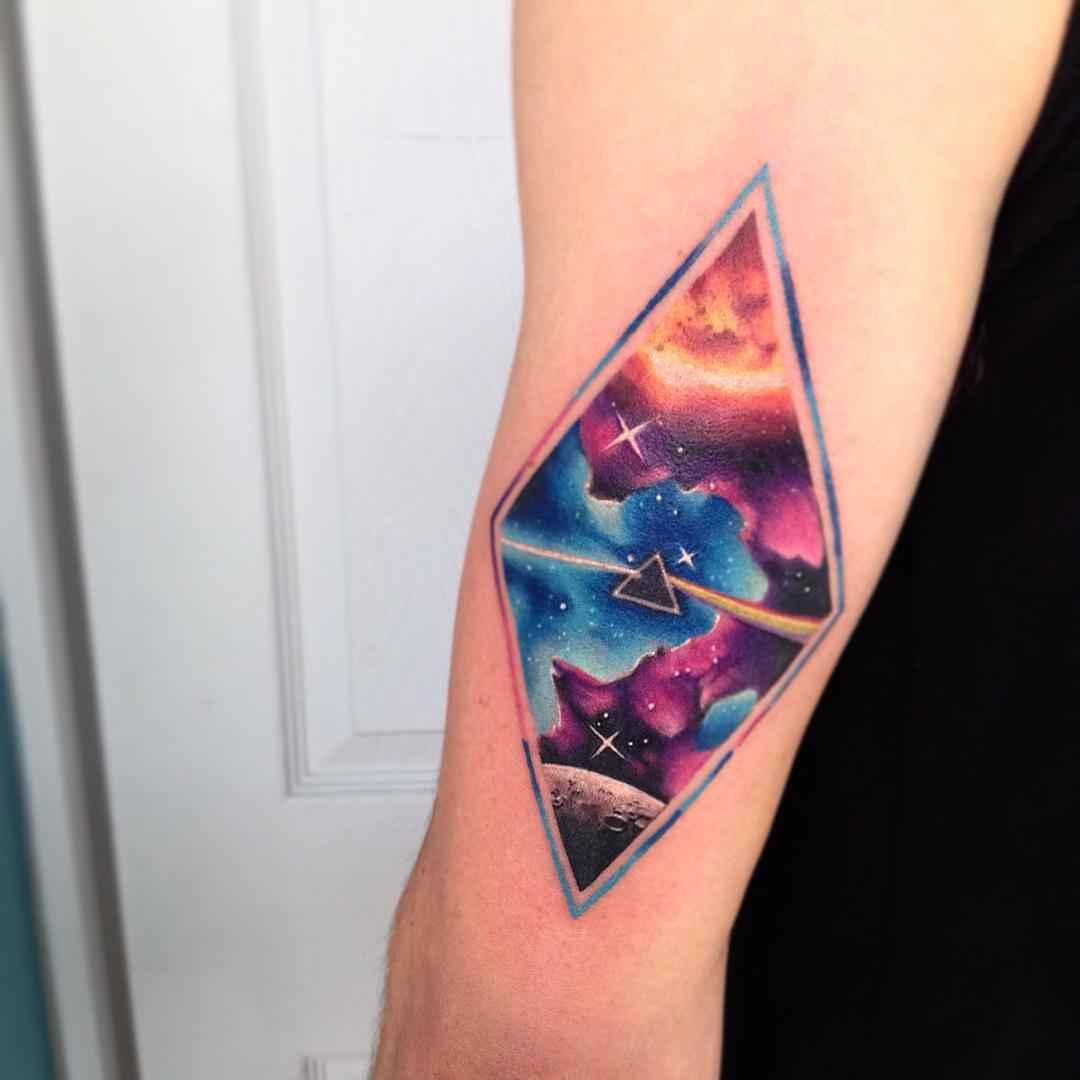 star galaxy tattoos