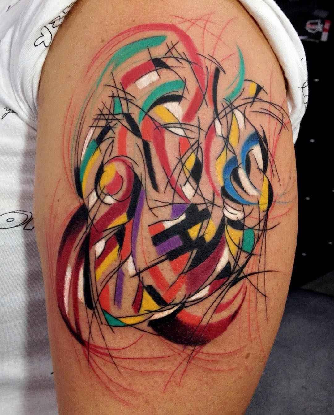 Фото абстрактных тату