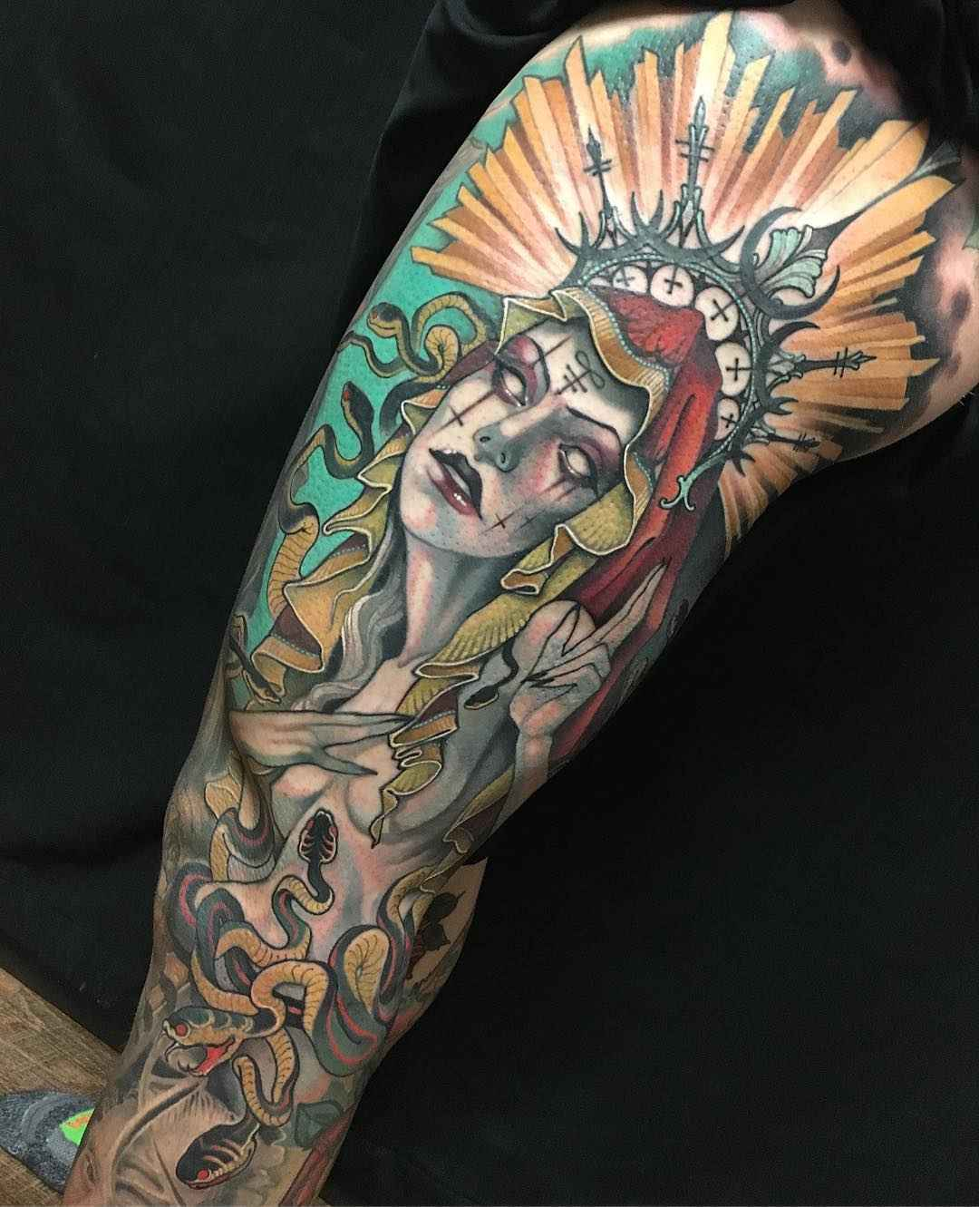 Tattoo Artist Teresa Sharpe