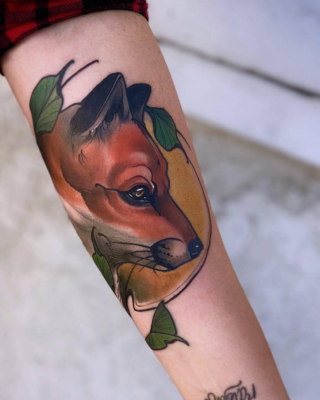 Color Tattoo By Matt From Black Sails Tattoo: Tattoo Artist Matt Tischler