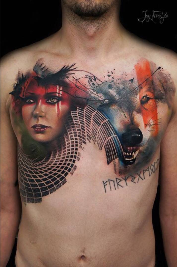 e88ff0dd0 Tattoo artist Jay Freestyle color, watercolor, sketch, abstract, realism  tattoo   Amsterdam