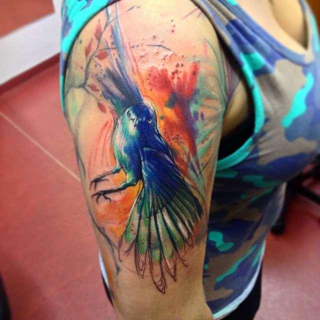 e1e3729ef2643 Watercolor fantasies from Adam Kremer | iNKPPL Tattoo Magazine