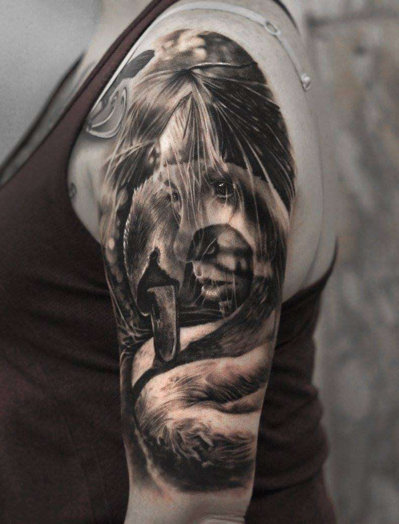 Hyper realistic tattoos by matthew james inkppl tattoo for Best realism tattoo artist