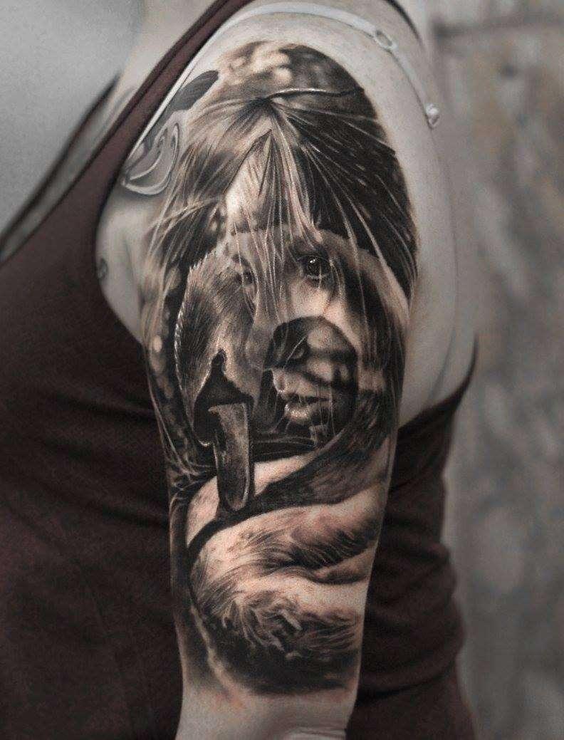 Hyper realistic tattoos by matthew james inkppl tattoo for Best realistic tattoo artists