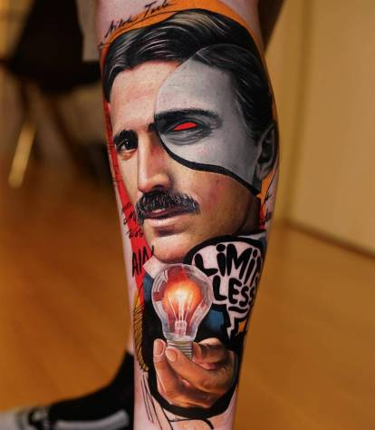 Dave Paulo's incredible transformation of tattoo-realism