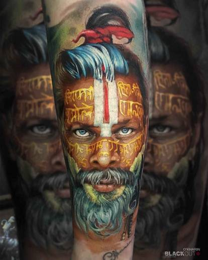 10 amazing tattoo works by Alexander O'Kharin