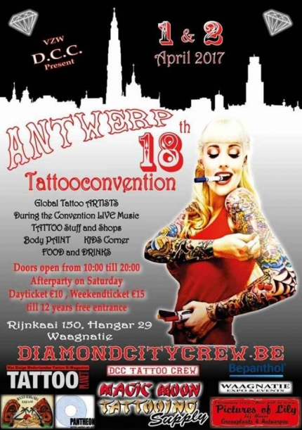 International Tattoo Conventions And Festivals April 2017