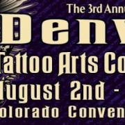 3rd Annual Denver Tattoo Arts Convention