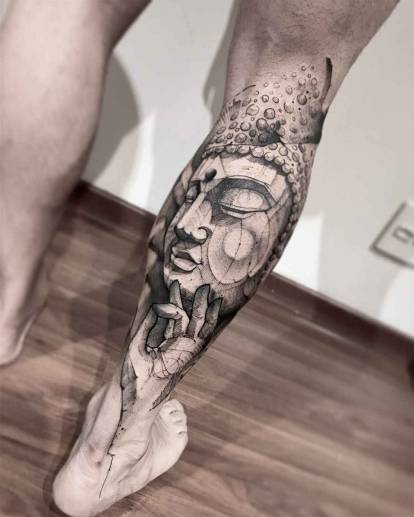 Lincoln Lima's sketch tattoos