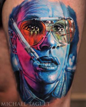 Awesome realistic tattoo by Michael Taguet