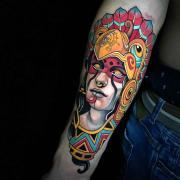 Neo traditional tattoo by Johnny Domus Mesquita