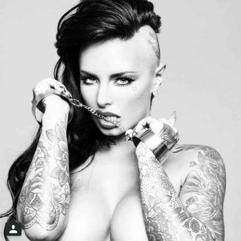 Tattoo model Christy Mack