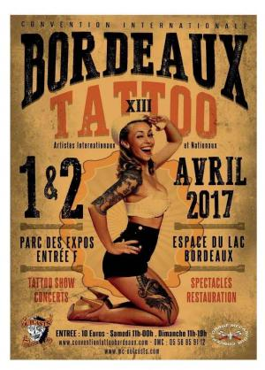 13th Bordeaux Tattoo Convention 2017 | 1-2 april 2017