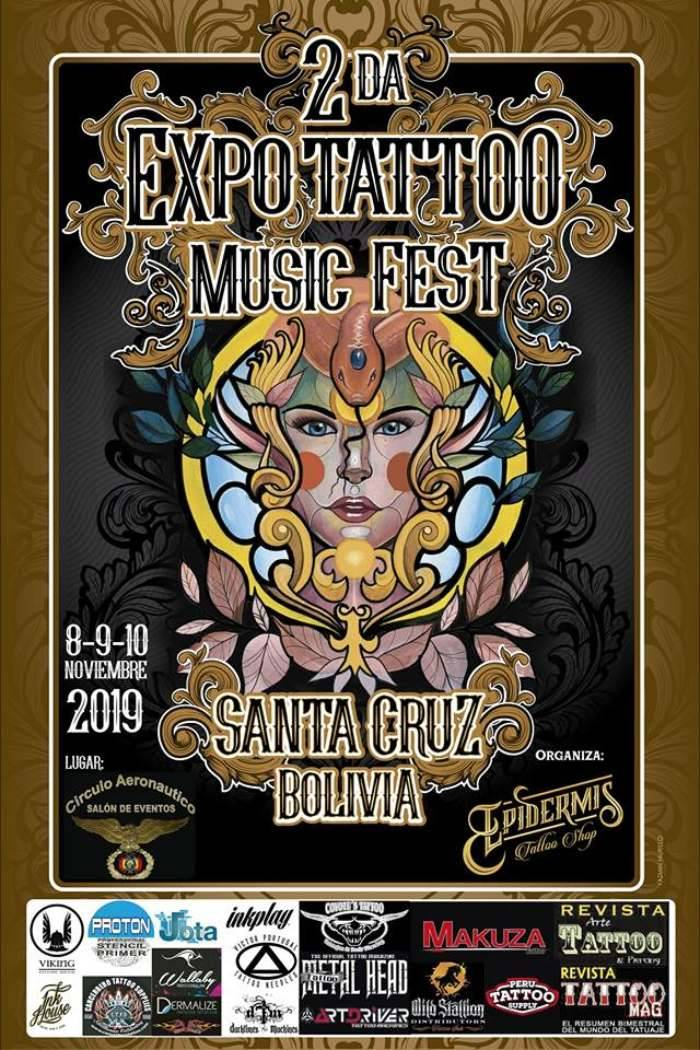 2nd Expo Tattoo Music Fest Santa Cruz