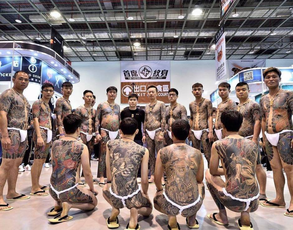 Tattoo artist Diao Zuo, color traditional oriental Japanese tattoo | Taiwan