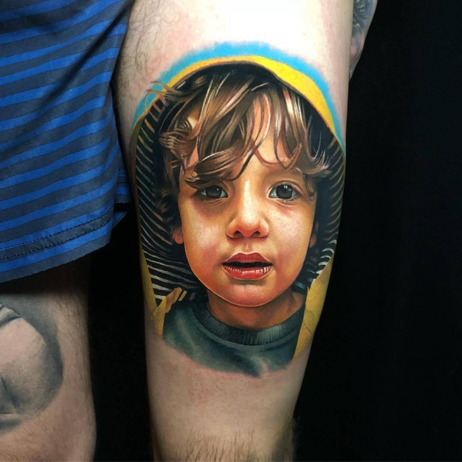 Kirsten Pettitts Incredible Realistic Tattoo