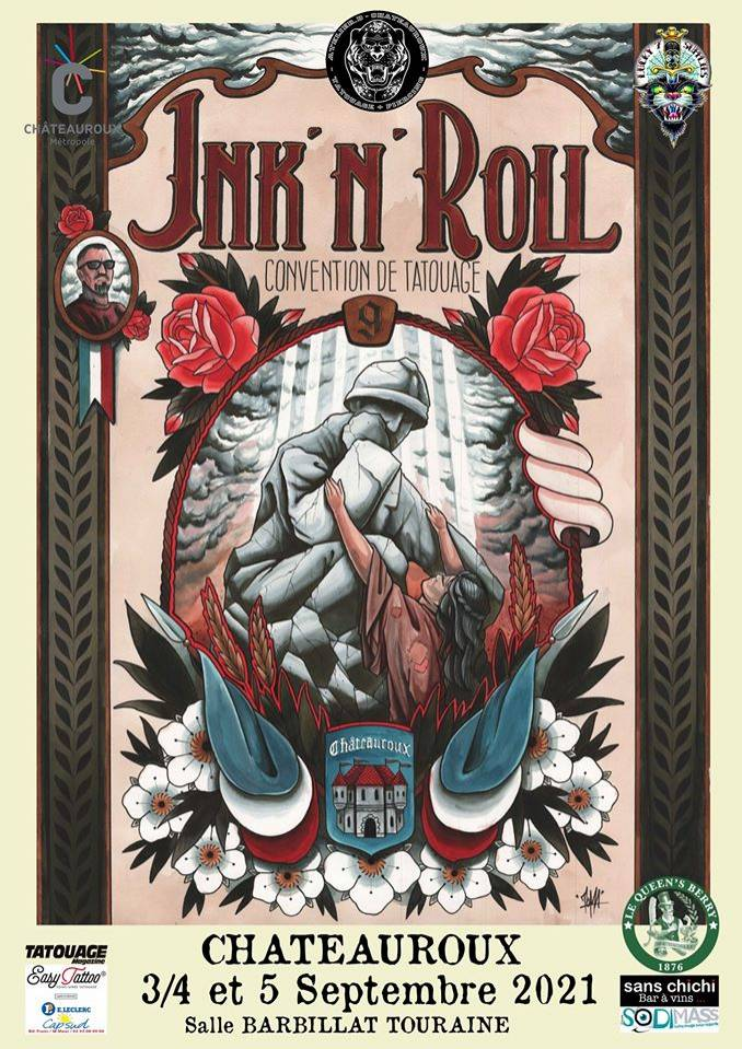 9th Ink'n'roll Tattoo Festival Chateauroux