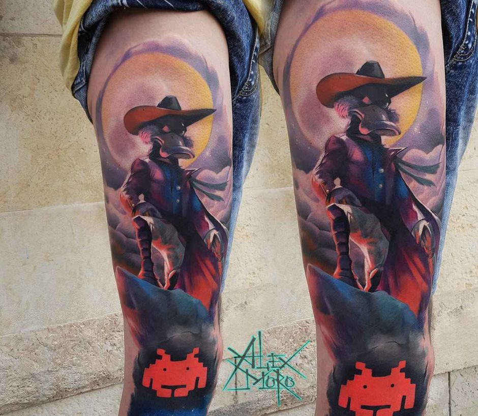 Tattoo artist Alex Moro - authors color tattoo realism | Russia