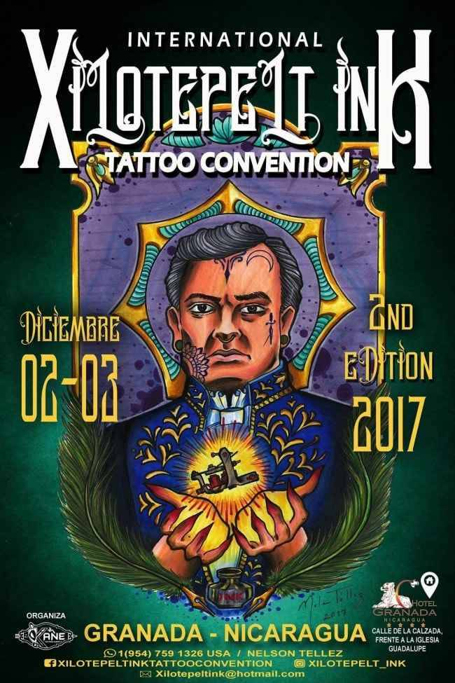 Xilotepelt Ink Tattoo Convention