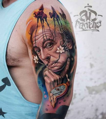 AD Pancho tattoo