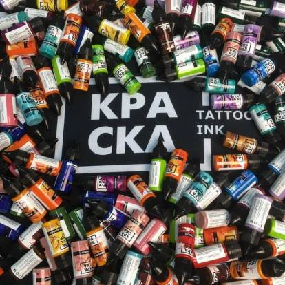 КРАСКА Tattoo Ink - Russian professional tattoo inks